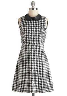 Monochrome for the Holidays Dress