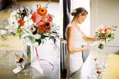 gorgeous spring floral bouquet by Studio Choo