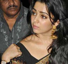 Charmi Kaur Black Saree Photos - Charmme kaur Black Saree