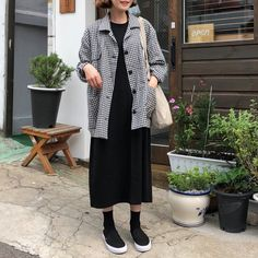 clothes and styles Frock Fashion, Modest Fashion, Hijab Fashion, Korean Fashion, Fasion, Fashion Outfits, Womens Fashion, Date Outfits, Korean Outfits