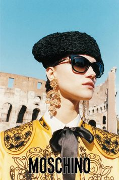Kasia Struss by Juergen Teller for Moschino, Spring 2012 Ad Campaign