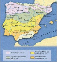 Spain History, Medieval, 11th Century, Book Projects, Historical Maps, Family History, Clip Art, World, Iberian Peninsula