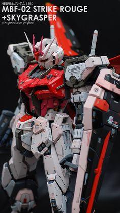 POINTNET.COM.HK - 手工超好!! PG 1/60 Gundam Strike Rouge Gundam Toys, Gundam 00, Gundam Wing, Robo Transformers, Space Warfare, Strike Gundam, Gundam Wallpapers, Gundam Mobile Suit, Gundam Custom Build