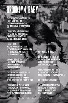 Brooklyn Baby - Lana Del Rey