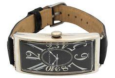 1920s Sterling Silver Movado Watch on OneKingsLane.com