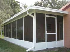 inexpensive screen porch ideas | Screen Enclosures & Glass ...
