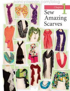Favorite Scarves to Sew by Nancy Zieman and Donna Fenske Part Two   Nancy Zieman Blog