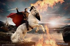David Beckham - Annie Leibovitz, Disney Dream Portrait: David Beckham as Prince Phillip from Sleeping Beauty. Annie Leibovitz s Disney Dream Portraits. Welcome to the MouseInfo Photo Gallery. Disney Amor, Disney Love, Disney Magic, Disney Style, Disney Guys, Heros Disney, Disney Films, Disney Pixar, Disney Characters