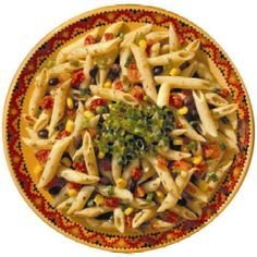Our Zingy Pasta Salad is a great dish to make the day before a cookout. Give it a try! http://bit.ly/1lcN4Sk