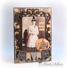 Halloween Card-Good Little Witch