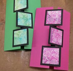 Hobby Boden's Blog: How-to: Gatefold card with squares