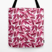 Tote Bag featuring Floating Leaves by Robin Gayl