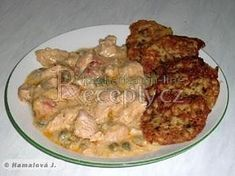 Krůtí prsíčka podle hospodskýho Pork, Chicken, Meat, Kale Stir Fry, Pork Chops, Cubs
