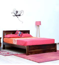 9a794430f7bb1b Queen Size Bed: Buy Queen Beds With Storage Online @ Best Prices