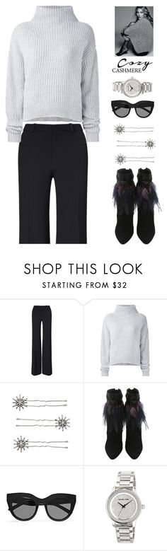 """Cozy Chic"" by rasa-j ❤ liked on Polyvore featuring Roland Mouret, Le Kasha, Chloe + Isabel, Le Specs, MICHAEL Michael Kors, womensFashion, falloutfit and cozychic"