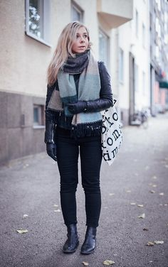 Get this look: http://lb.nu/look/7823634  More looks by Maria Morri: http://lb.nu/idhren  #casual #edgy #street #lindex #scarf #love #ootd #finnish #simple