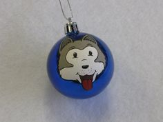 Items similar to Husky Shatterproof Christmas Ornaments- Personalized on Etsy Feather Painting, Quilt Patterns, Husky, Christmas Bulbs, Spirit, Hand Painted, Unique Jewelry, Handmade Gifts, Quilts