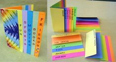 Elementary bookmaking website with lots of cool book ideas.
