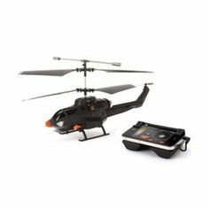 Griffin Helo TC Assault RC Copter for iPhones, iPods, iPads and Smartphones - Black