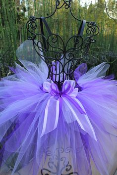 Purple and Lavender Fairy Tutu by MissKittysBootique on Etsy, $20.00