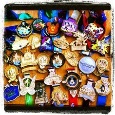 Walt Disney World and Disneyland RunDisney Medals!