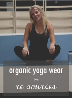 Organic Yoga wear from Re:sources