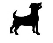Dog Jack Russell Silhouette illustration