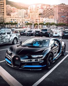 The nice car of bugatti chiron. The next fastest cars in the world is Bugatti Chiron. Named for a legendary centaur in Greek mythology, the Chiron is planned to improve upon the Veyron in every method. Luxury Sports Cars, New Sports Cars, Exotic Sports Cars, Super Sport Cars, Exotic Cars, Bugatti Veyron, Bugatti Cars, Ferrari, Audi Cars