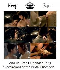 Claire and Jamie. Outlander ~ I am rereading Outlander, right along with the movie. I'm so impressed with how faithful the series is to the book.