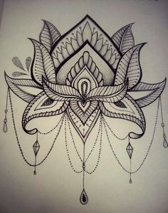 "By: Ana Larrotta ""Lotus flower proof that good things can come out of the muck."""