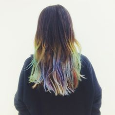 Irene Kim #rainbowhair #pixiemarket