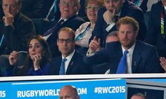 Prince William and Kate Middleton at Rugby World Cup 2015 | POPSUGAR Celebrity