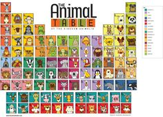 """""""The Animal Table"""". if you love me you will buy this for me. end of story."""