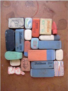 Erasers  (m willems on Flickr)