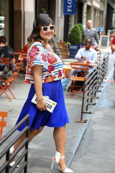 Curvy Girl Chic - Plus Size Fashion and Style Blog... featuring Allison Teng.
