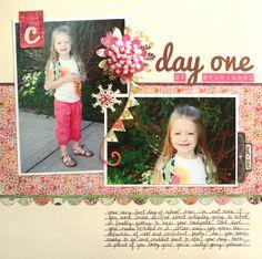 Day One of Preschool   Melanie Bauer