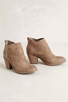 Savanna Suede Booties - anthropologie.com