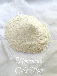Baking Tip How To Make Self Rising Flour and Cake Flour Recipes