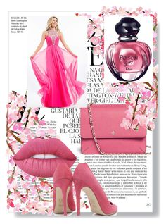 """""""Pink"""" by soofficial87 ❤ liked on Polyvore featuring Tory Burch, Rachel Allan, Lime Crime, Dee Keller, Christian Dior and Whiteley"""