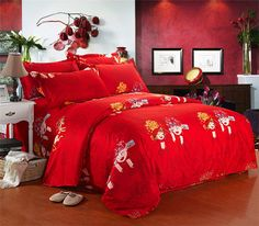 2016 New Bedding Sets Bedding Set King Size Wedding Bed Duvet Cover Sheet Pillow Case No Comforter