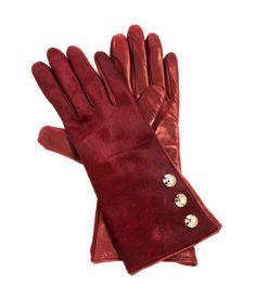 Three Button Side Snap Glove