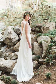 Photography : Caroline Tran | Wedding Dress : Jenny Yoo Read More on SMP: http://www.stylemepretty.com/2016/01/18/jenny-yoo-2016-collection-lookbook/