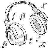 audifonos a lapiz