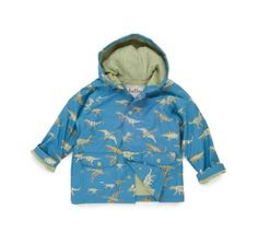 Hatley Blue Dino Raincoat at Wellies and Worms £30