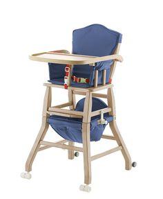 Seggiolone, girello e sedia in un unico prodotto, per seguire il bambino in ogni fase di crescita, dalla pappa, ai primi passi, al gioco. Adatto dai 5 mesi ai 6 anni.