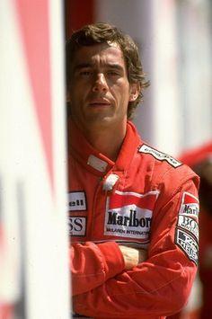 "Formula One Champion Ayrton Senna. Watch the documentary about him on Netflix called ""Senna"". Michael Schumacher, Formula 1, Gp Do Brasil, Clio Rs, San Marino Grand Prix, Damon Hill, Gp F1, Course Automobile, Alain Prost"