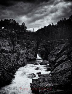 Ridderspranget #3 Monochrome, Fine Art Prints, Studio, World, Places, Water, Vacations, Landscapes, Pictures