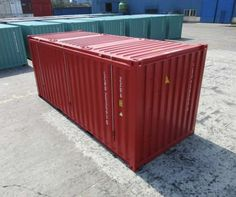 Shipping containers for sale at great prices, deals available on shipping containers of all sizes, new and used shipping containers for sale! 40ft Shipping Container, 40ft Container, Shipping Containers For Sale, Container Cabin, Cargo Container, Container Conversions, Storage Facility, Reception Areas, Storage Spaces