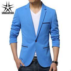 Cheap Urbanfind Tailored Collar hombres Blazers tamaño M 5XL para hombre trajes clásicos negro / azul oscuro / cielo azul / de color caqui hombre delgado abrigos, Compro Calidad Blazers directamente de los surtidores de China:     Bienvenido a nuestra tienda                                               [Información del producto]