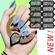 6X10PCS DIY Hollow Shape Manicure Nail Stickers Nail Art Manicure Template Image Stamp 3424529 2017 – $20.84